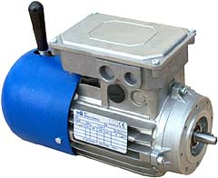 DF 3-ph IEC brake motor from MT Electric
