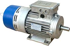 IEC 3ph motor with AC Brake with spring DFP