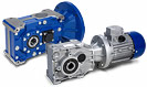 T Bevel Helical Gearbox and Gearmotor reducer