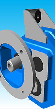 Shaft Mount CAD files available FREE on-line at tvtamerica.com